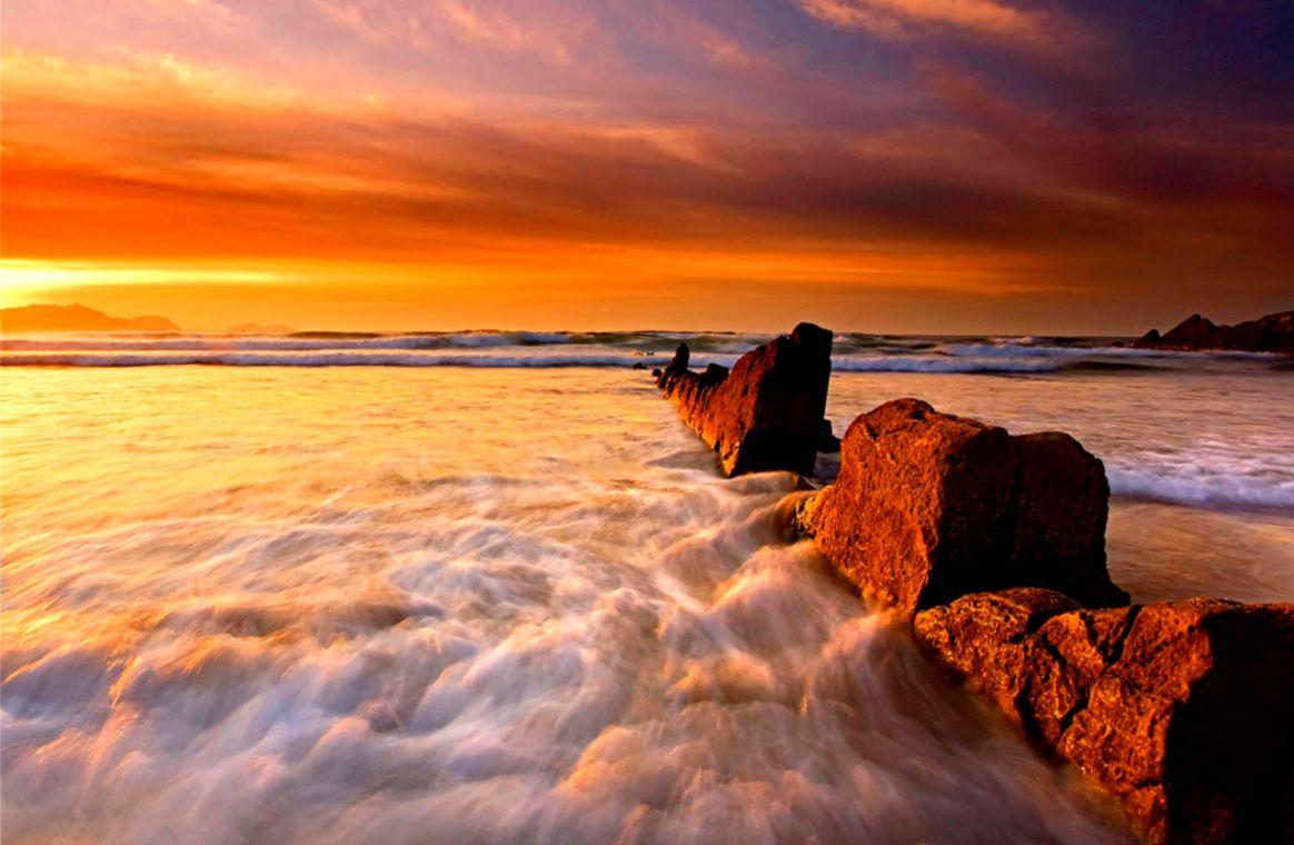 Amazing Nature Sunrise Wallpaper Hd  One Wallpapers