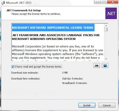 Download Microsoft .Net Framework Terbaru