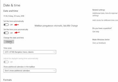 Mengatur Jam dan Tanggal Komputer secara Manual