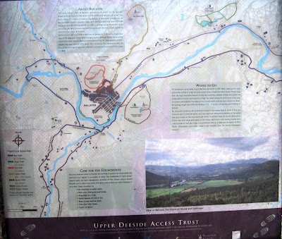 Upper Deeside Access Trust board, Ballater station