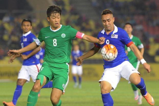 Pasukan 'Pekerja Jawatan Awam' Macau Mengaibkan 'Pemain Bola Sepak Profesional' Malaysia