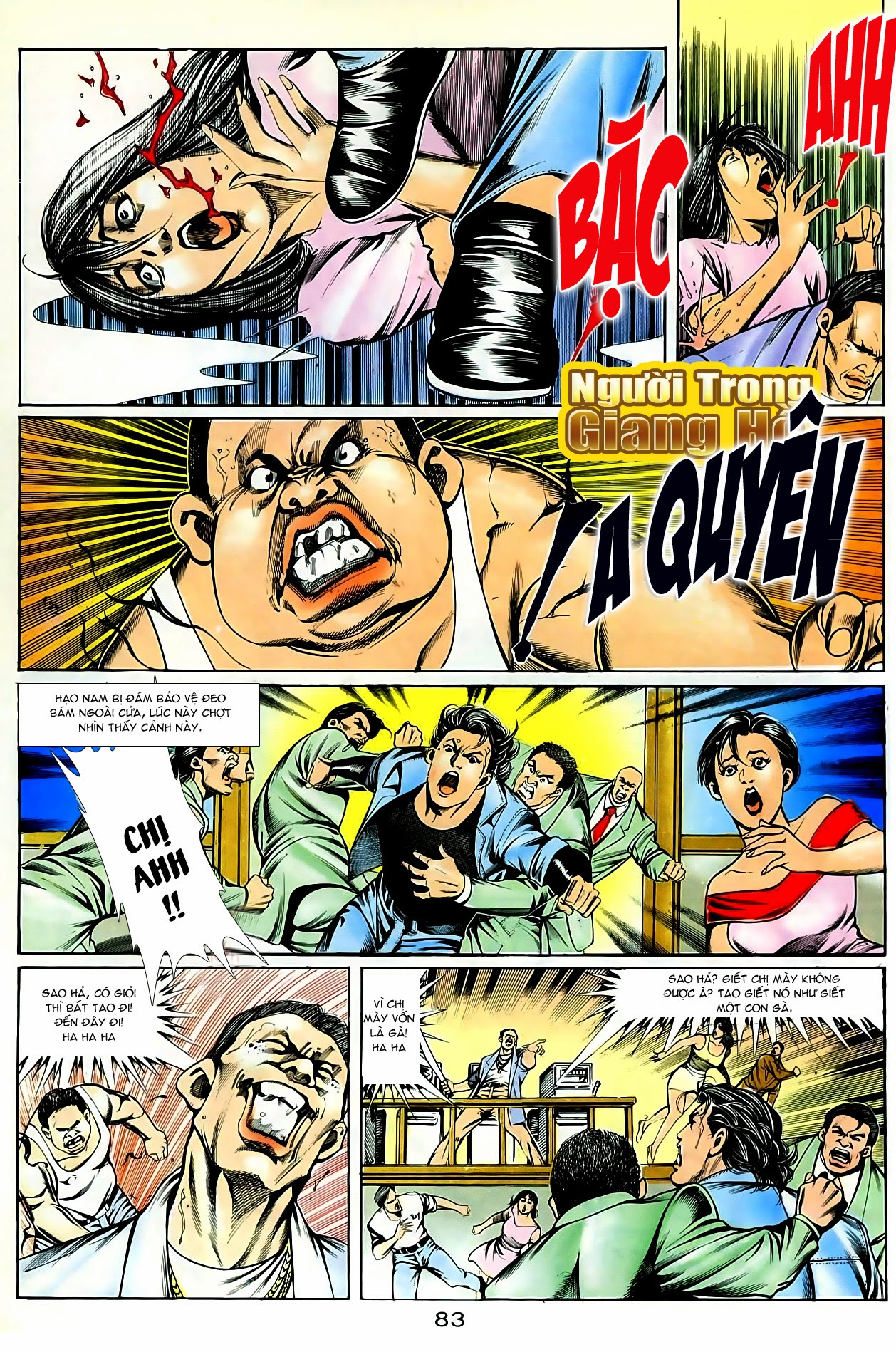 Người Trong Giang Hồ chapter 86: săn báo trang 26