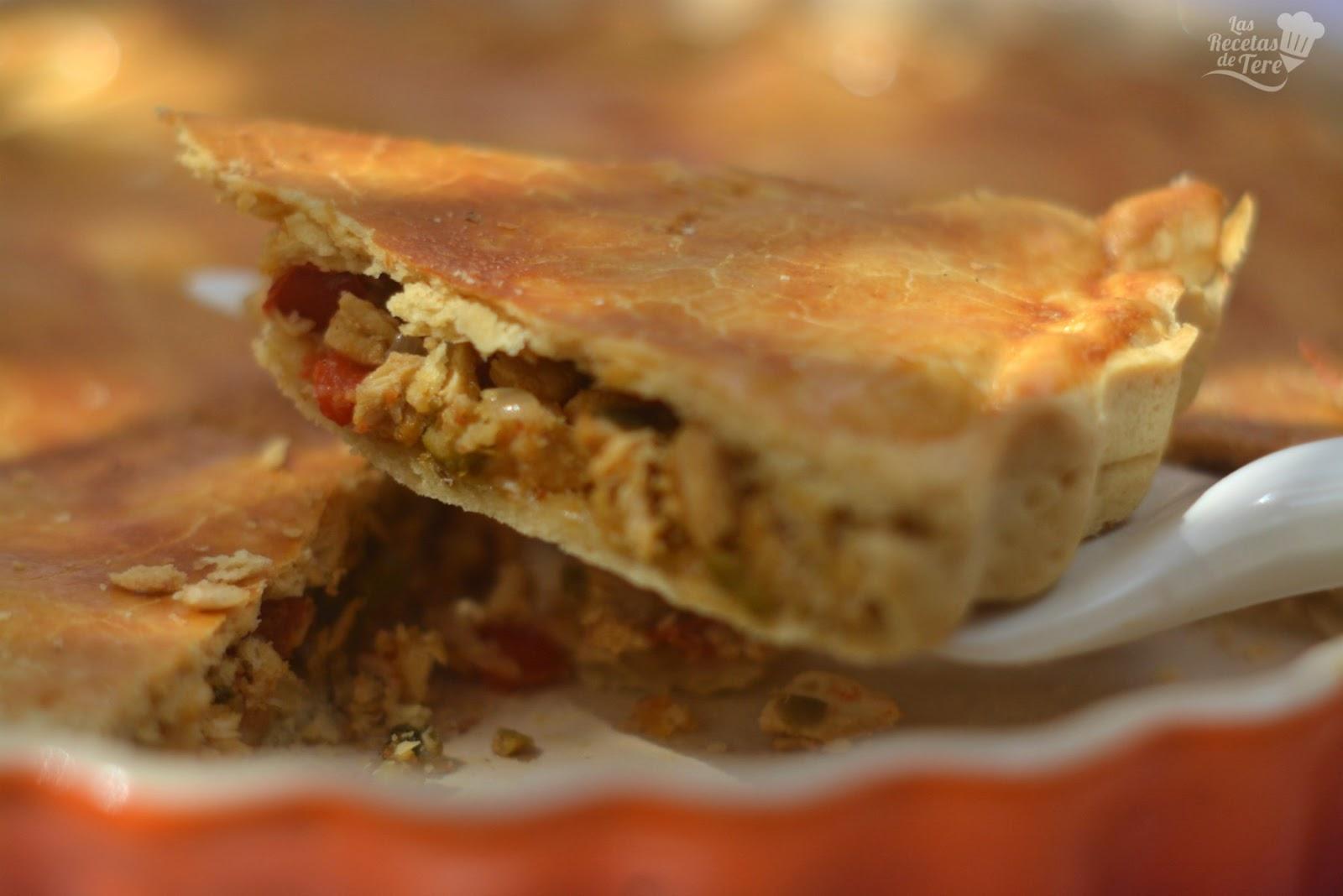 Empanada Casera De Pollo Cocina Facil Recetas Faciles Comida Casera