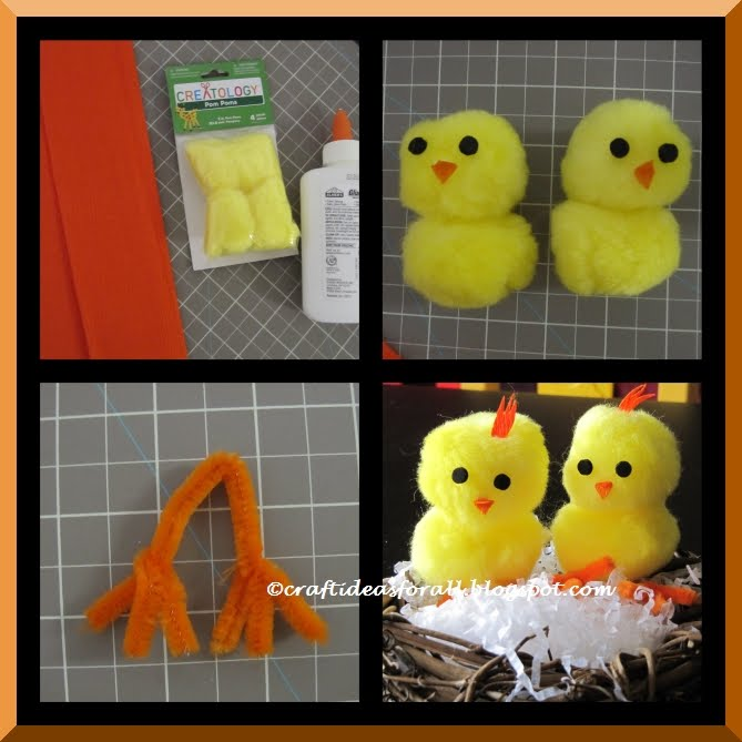Craft Ideas For All Easy Easter Baby Chick Craft