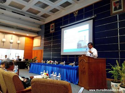 Sambutan oleh Deputi Bidang Jasa Ilmiah LIPI, Prof.Dr.Bambang Subiyanto, M.Agr.