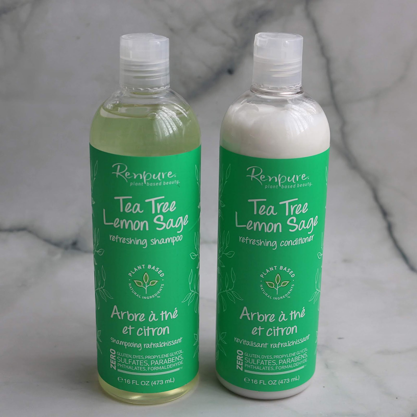 Renpure Tea Tree Lemon Sage Refreshing Shampoo and Conditioner