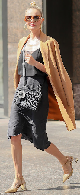 Kate Bosworth Ragdoll LA Slip Skirt