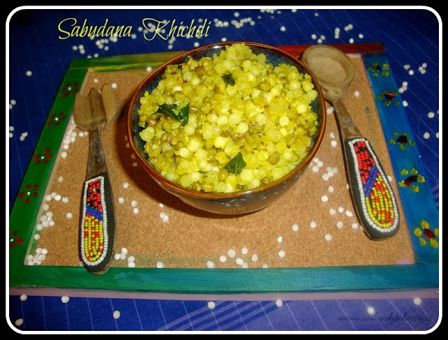 images of Sabudana Khichdi /Sago & Green Moongh Dhal Khichdi