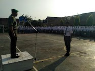 Inspektur Upacara SMAN 01 Subah