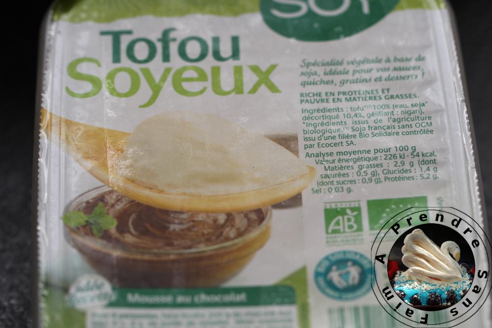 Smoothie au tofu soyeux