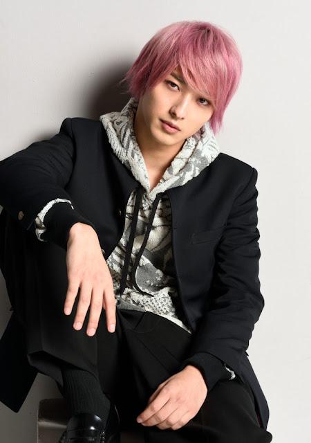 Ryusei Yokohama surge de cabelo rosa para Dorama Shoujo