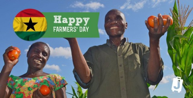 Happy Farmers Day Ghana!!