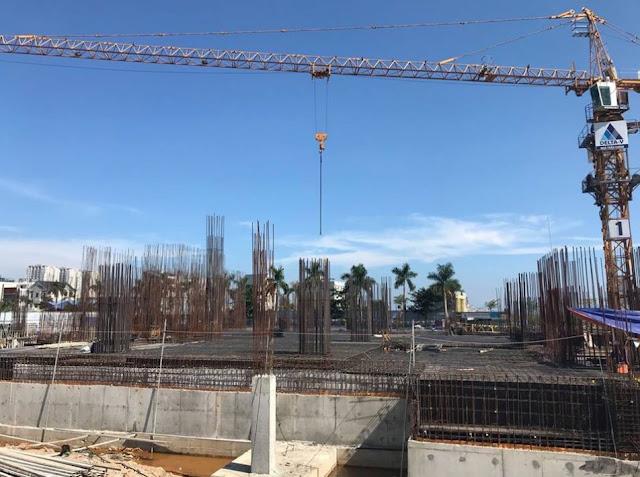 Cận cảnh công trình thi công xây dựng Citadines Marina Hạ Long