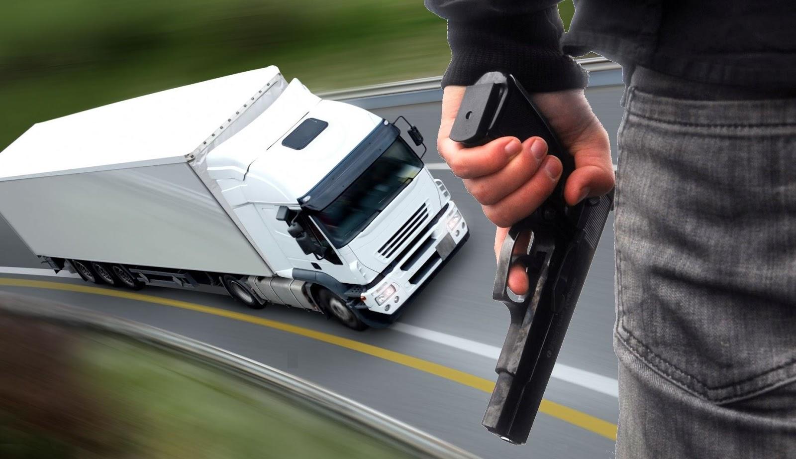 Resultado de imagem para roubos a caminhoneiros