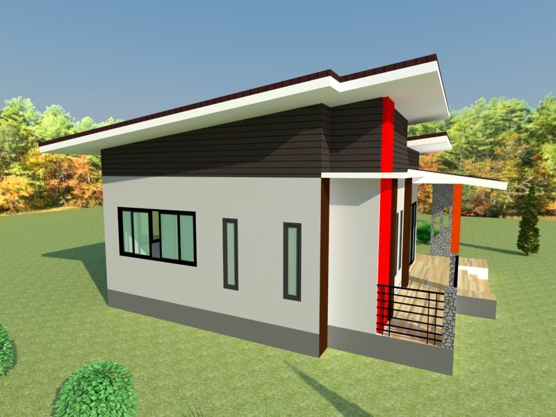 For many homeowners, small and modern houses are very attractive. Because of their compact sizes and affordable prices, it's perfectly suitable for properties of all sizes and people from all walks of life both in urban or countryside areas.   Nowadays, there are many varieties of styles and designs for small houses. So when looking for a one-story house, choose a beautiful design with durable materials.  Also, compact homes will take no time to build as well as save both labor and construction costs. Not to mention, these homes are great choices amid increasing cost of labor and building materials. A mini house is a perfect choice in this modern society. Here is some design that is easy to copy and build.