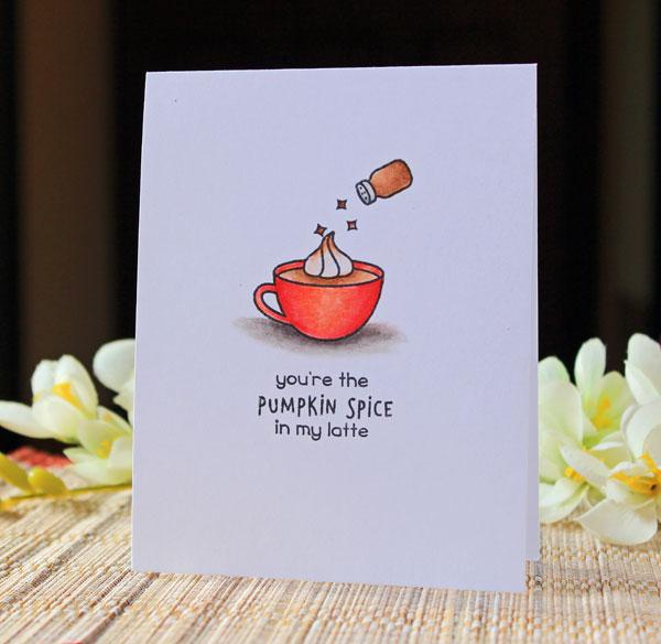Cn Designs You Re The Pumpkin Spice In My Latte