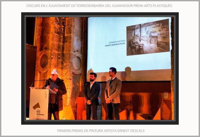 TORREDEMBARRA-PINTURA-TARRAGONA-CATALUNYA-CONCURS-PERE ROMEU-ARTS PLÁSTIQUES-AJUNTAMENT-PRIMERS-PREMIS-ARTISTA PINTOR-ERNEST DESCALS-