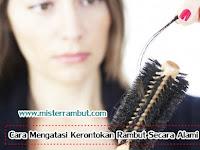 5 Cara Mengatasi Kerontokan Rambut Secara Alami