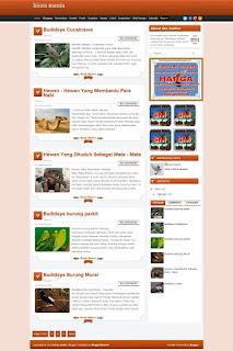 Beli Web Blog Kicau Mania
