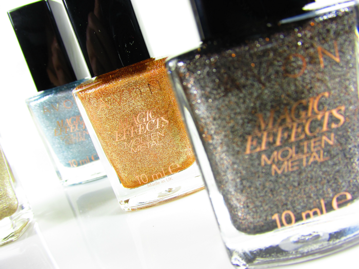 Review: AVON Magic Effects MOLTEN METAL Kollektion Nagellacke / Nailpolishes