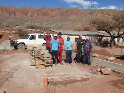Meine Kapellenbauer in Casa Grande an der Argentinischen Grenze