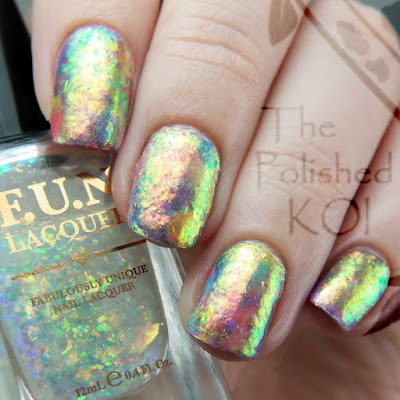 Rainbow Opal Nail Art TONIC, FUN