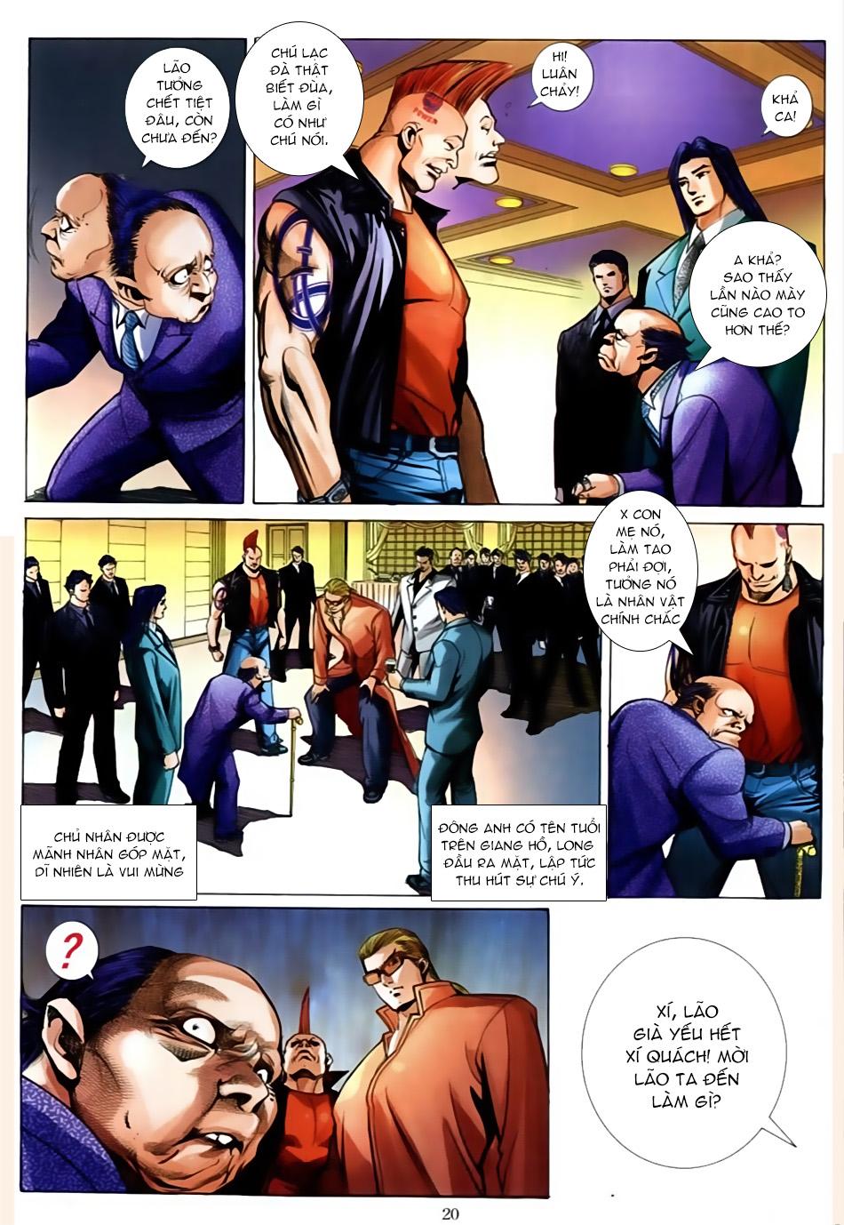 Người Trong Giang Hồ chapter 586: lưỡi chiến quần hùng trang 16