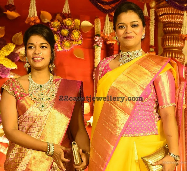 Chiranjeevi Daughter Srija Heavy Jewelry