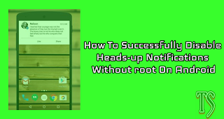 Have you been finding this heads-up notifications annoying? If yes then this post is for you. Android devices have gone through a big series of evolution to be a great mobile operating system today.