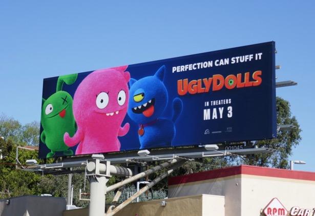UglyDolls movie billboard