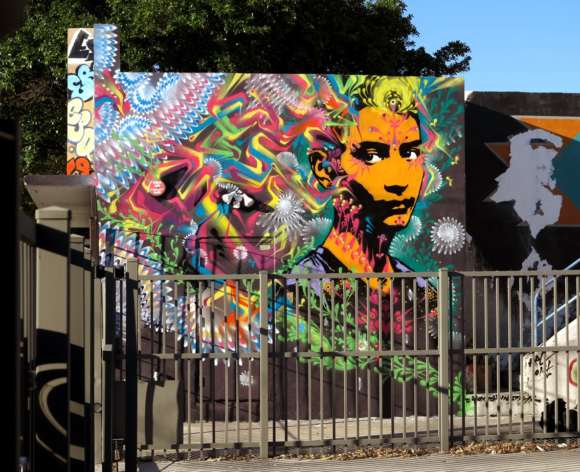 Our friend Stinkfish spent the last few weeks in Wynwood, Miami where he's been busy working on several new pieces. 1