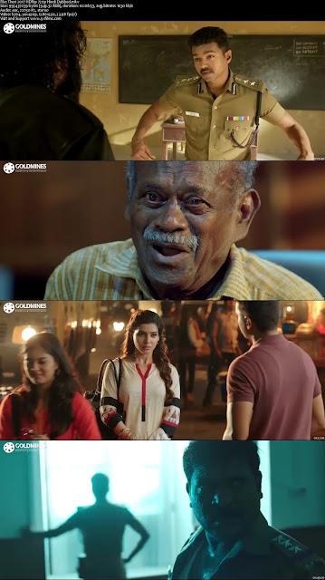 Theri 2017 HRip 720p Hindi Dubbed