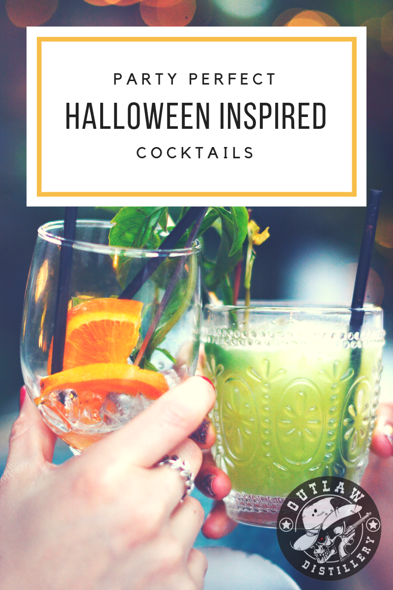 Easy Halloween Shots Recipes 3 Easy Halloween Inspired Cocktail Recipes Outlaw Distillery