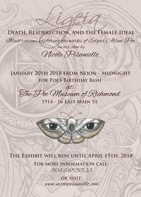 The Art of Nicole Pisaniello Ligeia Death Resurrection and the