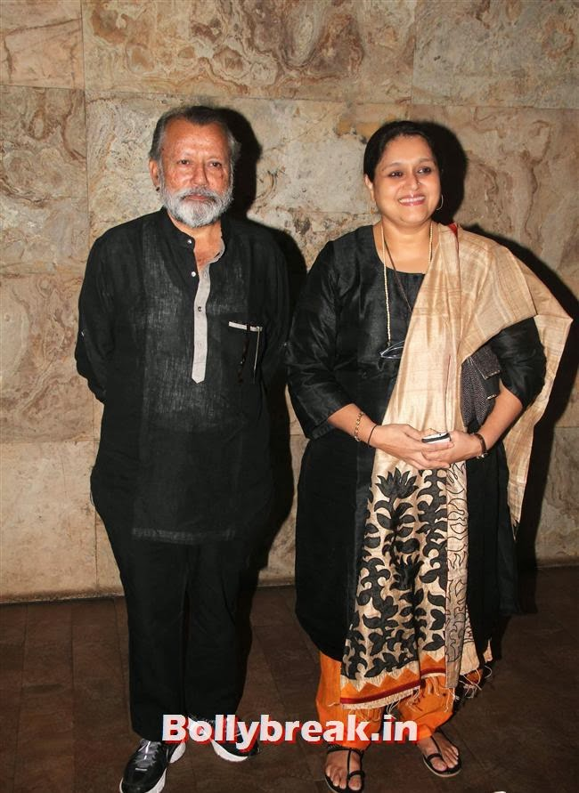 Pankaj Kapoor and Supriya Pathak, Ram Leela Premiere Photos