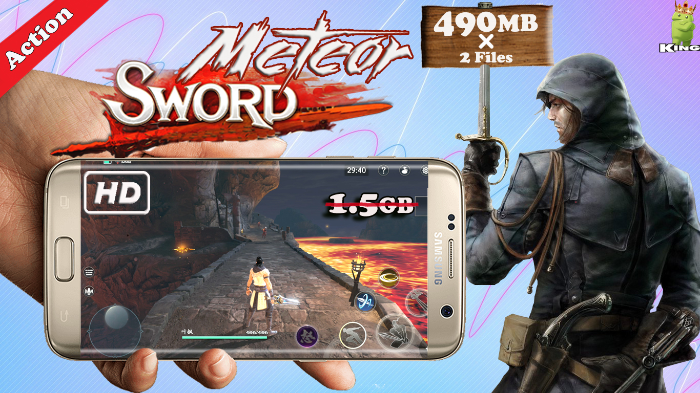 Meteor Butterfly Sword HD Graphics Action Game Download | KING