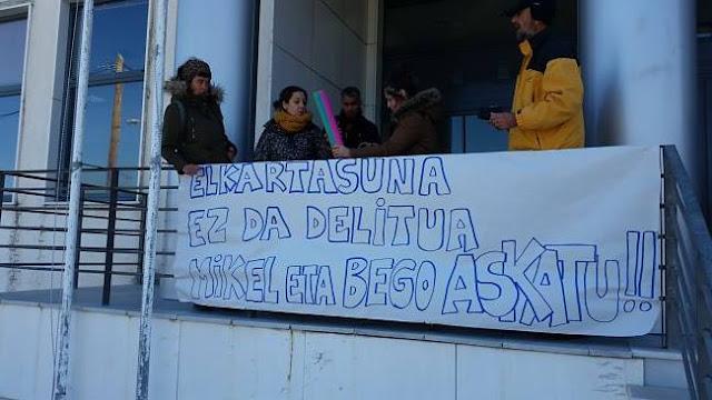 Ηγουμενίτσα: Ελεύθεροι οι Βάσκοι ακτιβιστές