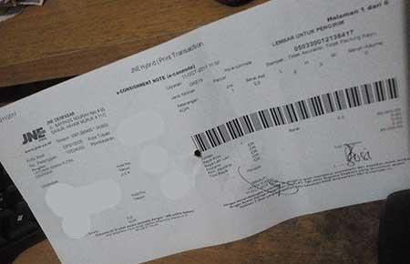 Cara Cek Nomor Resi JNE Kiriman dari Subang