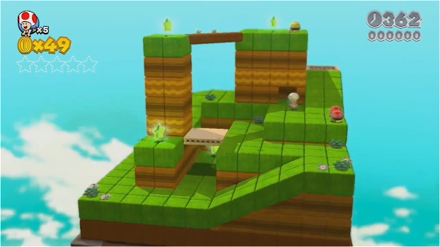 Mario Super Wii House World World U 3d Star Ghost