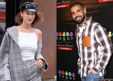 Bella Hadid Partying With Drake