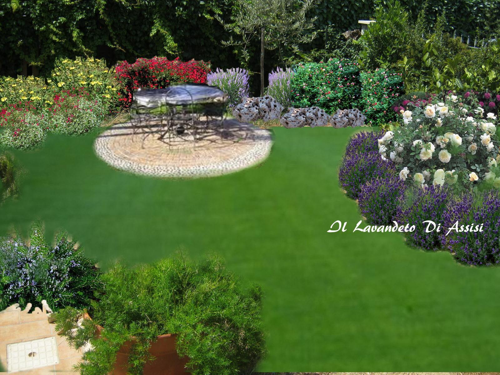 Progettazione giardini privati progetti giardini immagini for Giardini progetti