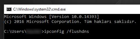 Windows 10'da DNS Önbelleğini Temizleme Nasıl Yapılır?