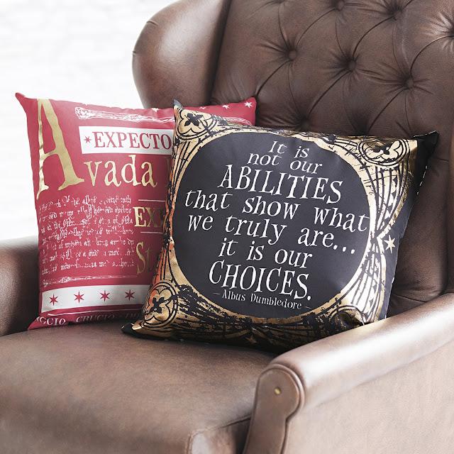 Coleção homewear de Harry Potter Riachuelo