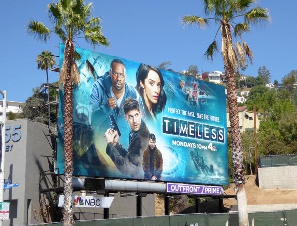 Timeless series premiere billboard