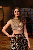Actress Model Sarah Hopkins Latest Pos in Lehenga Choli at SIIMA Short Film Awards 2017 .COM 0170.JPG