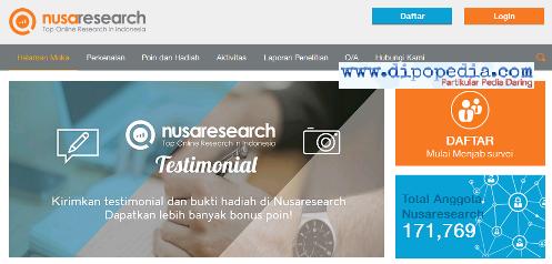 Laman Beranda Nusaresearch - Dipopedia