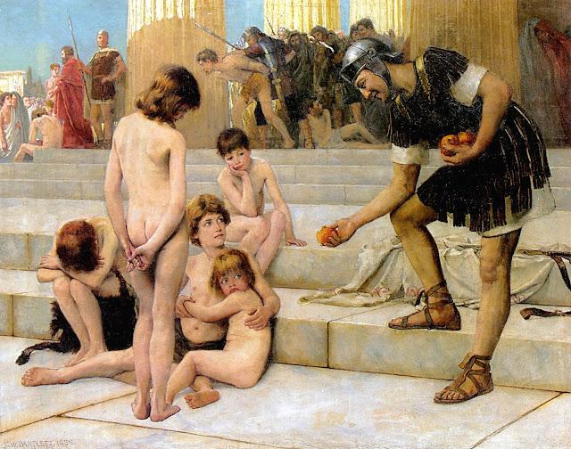Charles William Bartlett: Prigionieri a Roma