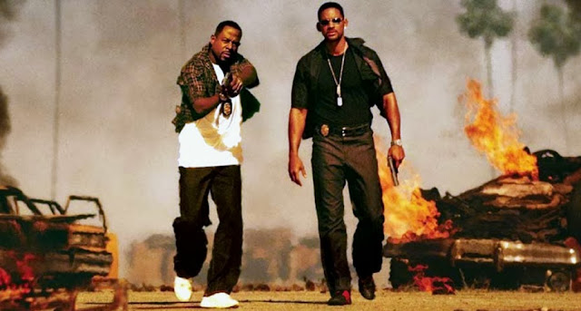 Martin Lawrence şi Will Smith în Bad Boys II (2003)
