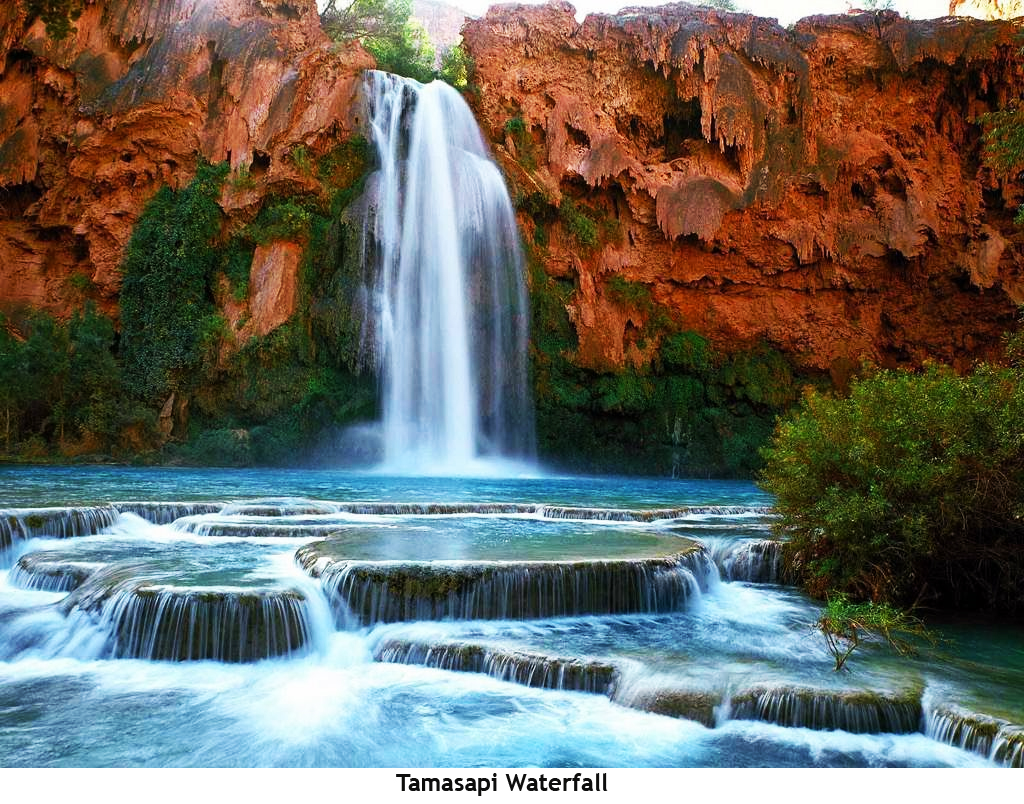 Waterfall Tamasapi Is Located In The Hamlet Village Mamunyu Mamuju Subdistrict West Sulawesi Province This Has A Height Of 75