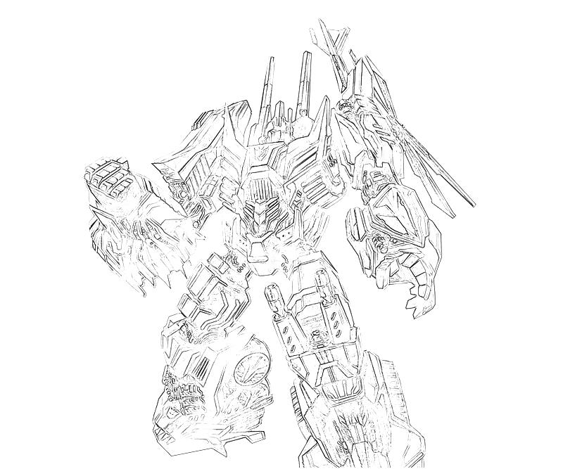 transformers cybertron coloring pages - photo#22